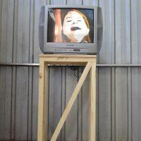 Paula Coñoepan, Caducado (2019). Video instalación. Imagen cortesía del curador