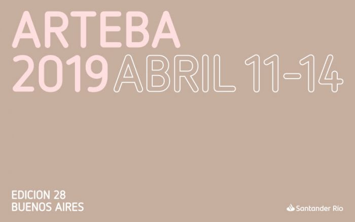 Don't miss arteBA 2019 from April, 11 to 14 / 2 – 9 pm.