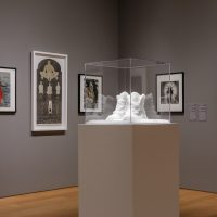Installation image of The Body Says, I Am a Fiesta: The Figure in Latin American Art at the Norton Museum of Art. Courtesy of Norton Museum of Art