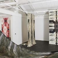 Carolina Caycedo, Wanaawna, Rio Hondo and Other Spirits (2020). Installation view