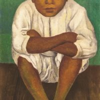 Diego Rivera (Mexican, 1886 – 1957) El Amigo de Frida (Frida's Friend), 1931. Oil on canvas. Collection of Nader Art Museum Latin America © 2019 Banco de México Diego Rivera Frida Kahlo Museums Trust, Mexico, D.F. / Artists Rights Society (ARS), New York