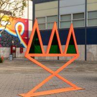 Iván Sikic, Embellecedores Portátiles (2019). Vista de instalación. Foto por André Aragonés