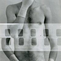 Armando Cristeto, El Condón (1979). Fotografía B/N, plata sobre gelatina. Colección Artística, MUAC, UNAM
