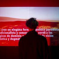 La Guerra del '19 (2020). Curaduría por Valentina Gutiérrez Turbay y Matías Allende Contador. Vista de instalación