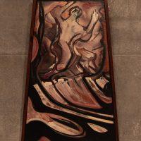 Siqueiros: Última etapa de producción 1965 – 1971. La marcha de la humanidad (2020). Vista de instalación. Foto por Michelle Lartigue. Cortesía de Universidad de Monterrey, Centro Roberto Garza Sada