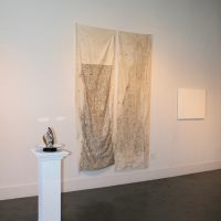 More Than Words: Text-Based Artworks II (2020). Installation view. Image courtesy of Ruiz-Healy Art