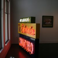 Gary Sweeney, Mi Querido (2012). Neon. Image courtesy of Ruiz-Healy Art