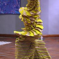 Karen Aune en Simbiosis Entrópica (2020). Vista de instalación. Imagen cortesía de Grey Cube Projects