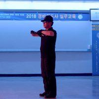 Jeamin Cha, On Guard(2018). Video still, 18 mins, single channel video. Courtesy of the artist