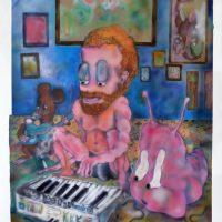 Constanza Giuliani, El profesor de piano de la serie THIS IS ME (2017). Acrílico sobre papel