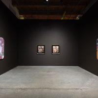 Mickalene Thomas: Femmes Noires (2019). Installation view: Contemporary Arts Center, New Orleans. Photo: Alex Marks