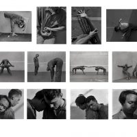 Jack X Proctor, Performative Moraines - Lateral, Medial, and Terminal. Silver Gelatin. Performers- William Boger, Minkah Smith, Jasmine Kayla, Tang, Wynton Boger. Image courtesy of Carolyn Campagna Kleefeld Contemporary Art Museum