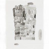 Jazael Olguín, Desequilibrium dolems cuatro. Tinta sobre papel