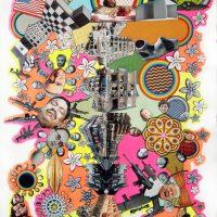 Miguel Ventura, Sin título 1. Collage