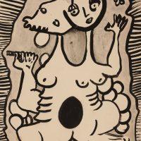 Antonio Henrique Amaral, Untitled (1962). Woodcut. Image courtesy ofInstituto Tomie Ohtake
