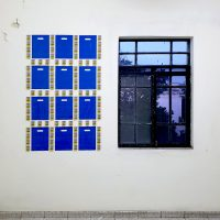 Carlos A. Mora, Somewhere, anywhere (Composition #5), 2020.Vista de instalación.Imagen cortesía deAlejandro Cámara Frías