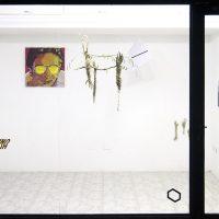 En Vitrina (2020). Vista de instalación. Fotos porFabio Rincones y María Niño