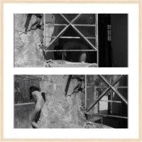 Gabriela Islas, Autorretratos en fusión con el espacio (2017). Fotografía digital. Imagen cortesía de Seminario de Creación, Diseño y Gestión de Exposiciones
