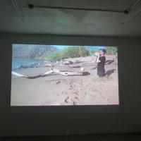 Pável Aguilar, Partida (2020). Vista de instalación. Imagen cortesía de El Lobi