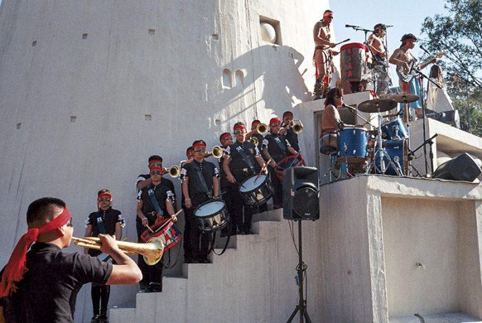 """RED SOCIAL presenta """"Mexica"""", video de Los Cogelones en la Torre de los  Vientos"""