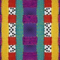 Gioconda Berríos / Mary Martínez, Híbrido (estudio para tapiz analógico-digital) (2020). Materiales: Tejido, hilos acrílicos, jpg. Técnica: Digital. Caracas - Venezuela
