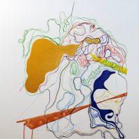 Moridja Kitenge Banza, Chiromancie#9 n°6. Image courtesy of PHI Foundation for Contemporary Art