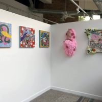 Caroline Liu and Moises Salazar,Forget Me Not, Forgive Me Not (2020). Installation view. Image courtesy of AMFM