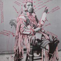 Wendy Red Star, Peelatchiwaaxpáash / Medicine Crow (Raven) (2014). Courtesy of the artist