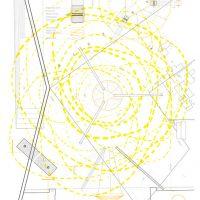 EPK3. Acrílico sobre Impresión Láser en papel, 31x47 cm, serie de 13. Especificaciones técnicas y constructivas de la estructura soportante, calculada para soportar una tonelada. Colaboración con Pablo Encina y Benjamín Encina
