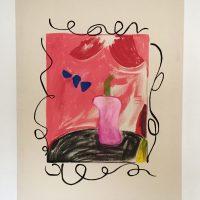 Mauricio Marcin,Nuestro amor dura lo que duran las flores (2020). Imagen cortesía del artista y Galería Karen Huber