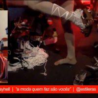 """Frame from the live performance """"Webseries Calçado de Monstro"""" EP05"""